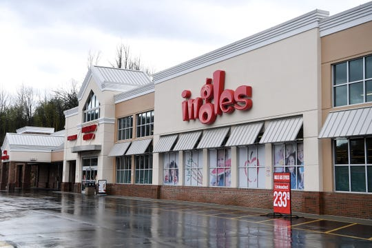 The Ingles Market at 1865 Hendersonville Rd. In South Asheville on Feb. 11, 2020.