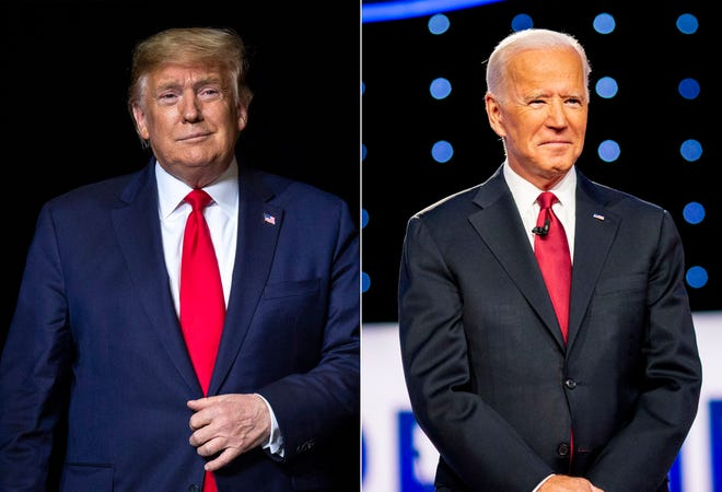 President Donald Trump is 74, Joe Biden 77, prompting a reader to ask what happens if one of them dies before the election, or Inauguration Day on Jan. 20.